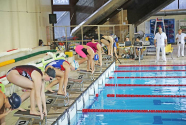 City high school swimming competition