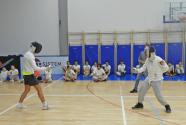 Fencing during PE classes
