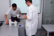 Interdisciplinary geography and chemistry lesson