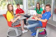 Savremena International School Students