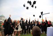 Savremena's first Cambridge graduates receive their diplomas