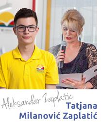 Aleksandar Zaplatić maturant Savrmene