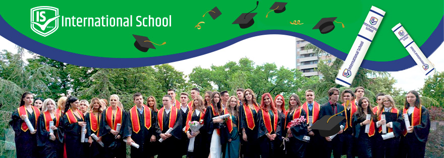 The Class of 2021 marks the end of their education at the International School