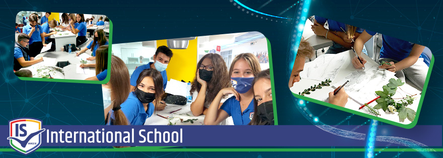 Interdisciplinary Biology and Chemistry lesson at the International School